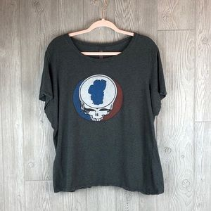 Grateful Dead Steal Your Face Graphic Tee XXL